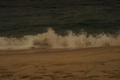Il mare di oggi, sempre piu00f9 mosso