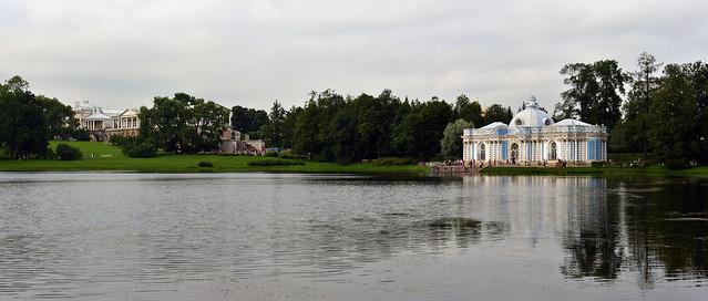 RUSSIE - Tsarskoïe Selo - Pouchkine -  parc du palais Catherine