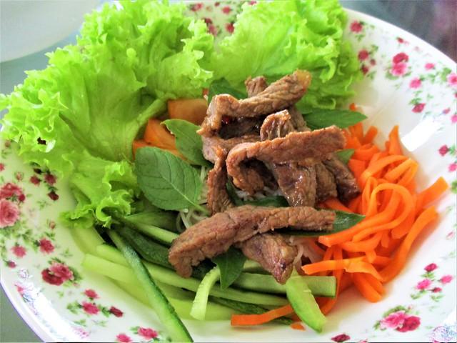 Melissa's Vietnamese pork rice noodles salad