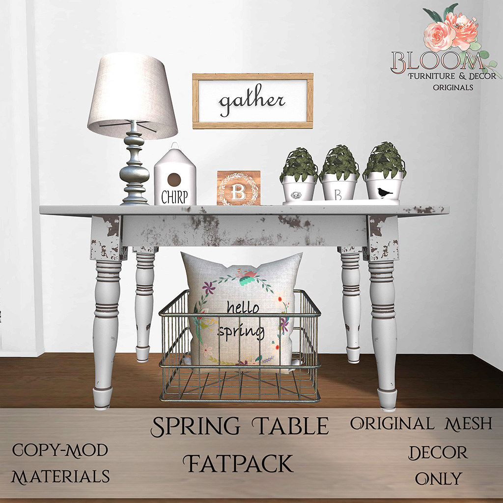 Bloom! – Spring Table FatpackAD
