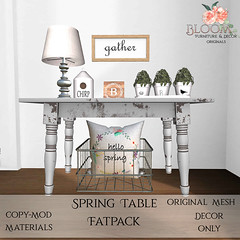 Bloom! - Spring Table FatpackAD