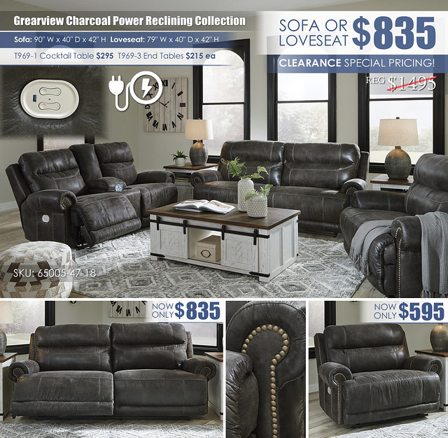 Grearview Charcoal Power Reclining Collection_65005-47-18-82-T969