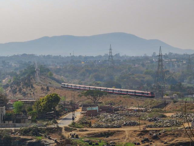 Andal DEMU Train