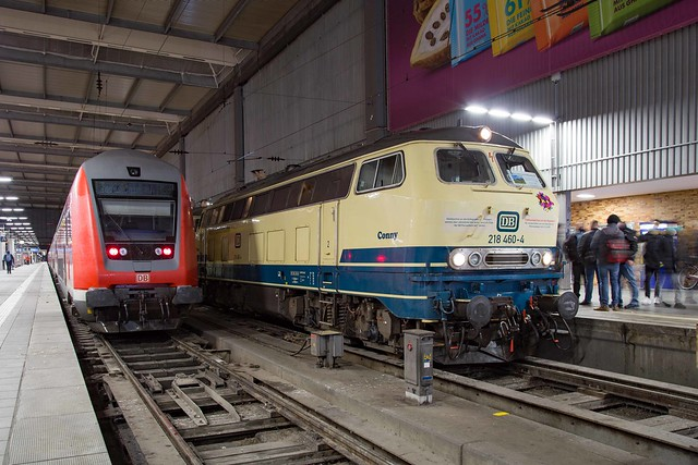 DB 218 460 München Hbf