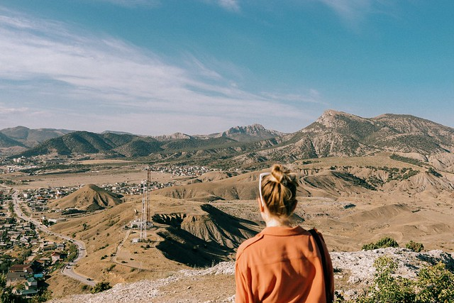 Горы ждут. Крым, Судак / Mountains await. Crimea, Sudak