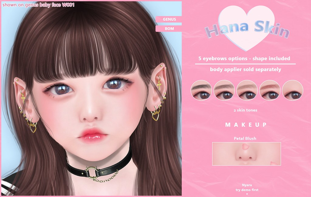 Nyaru – Hana Skin ♡ SCHOOL DAY