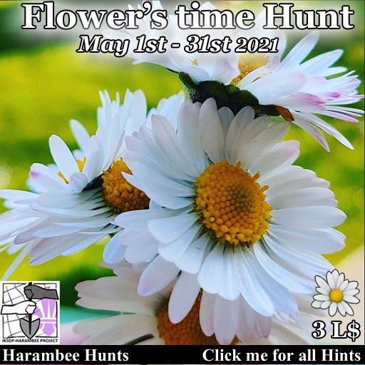 Flower's time hunt [May 1st - 31st]
