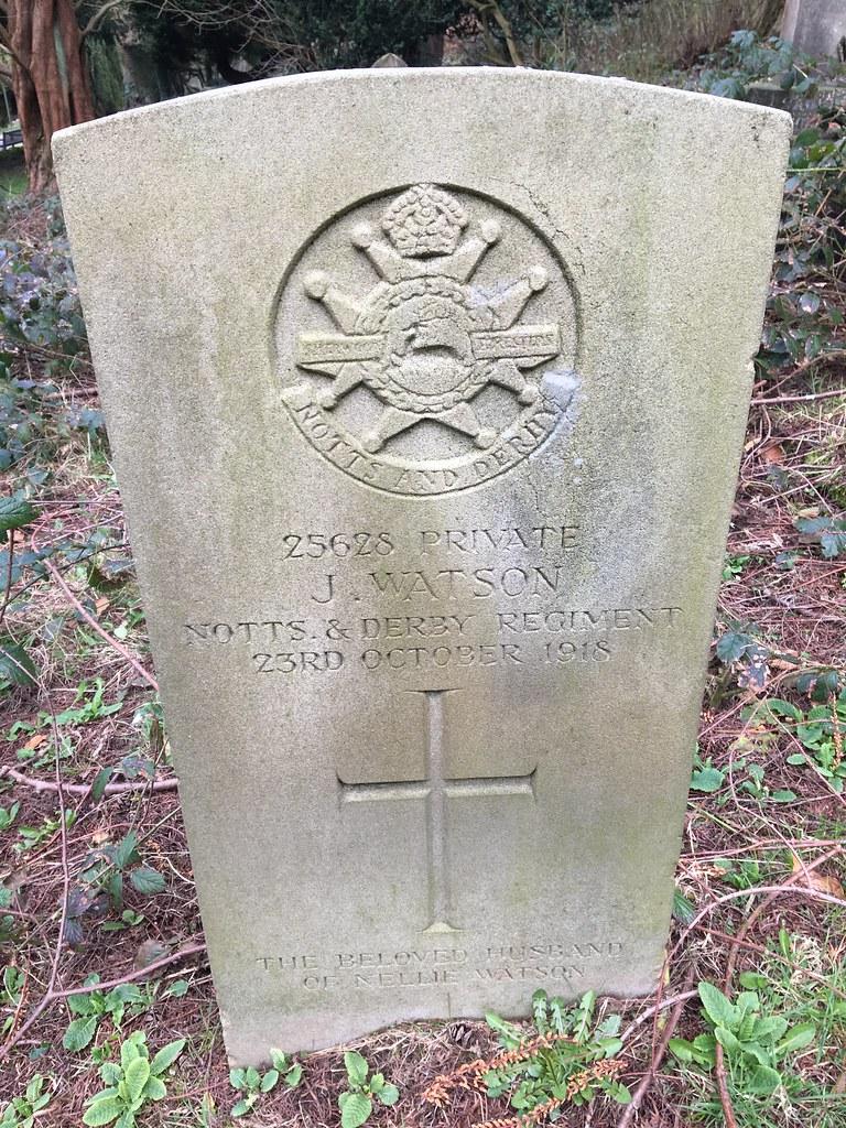 Watson J, Belper Cemetery, 05492, Derbyshire