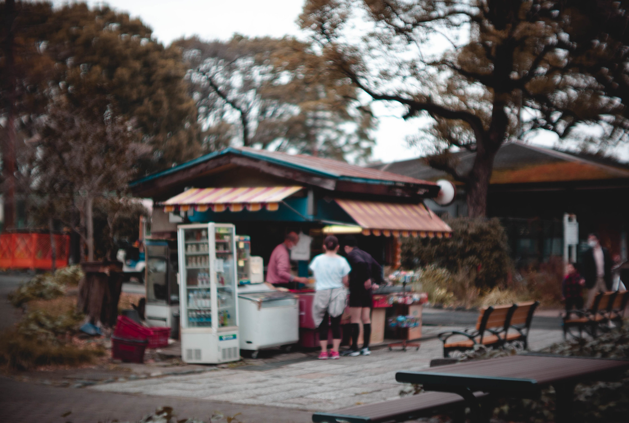 old kiosk