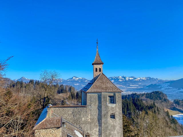 Thierberg chapel on Thierberg mountain in Tyrol, Austria