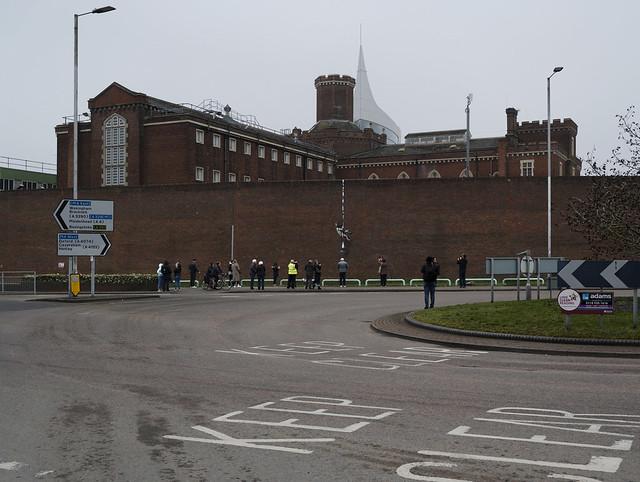 Banksy, Reading Prison