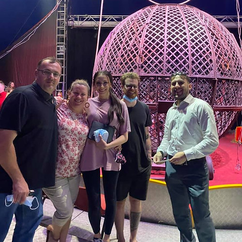 Family fun time at the Circus