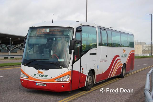Bus Éireann SC253 (08D60077).