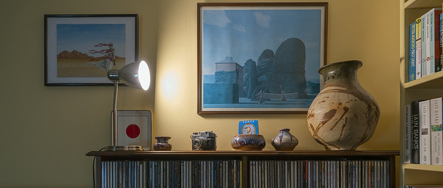 The Shelf of Things with a  Zeiss 16-35 f4 -- 1