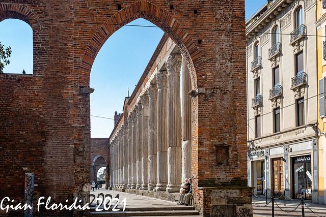 Milano, Colonne di S. Lorenzo