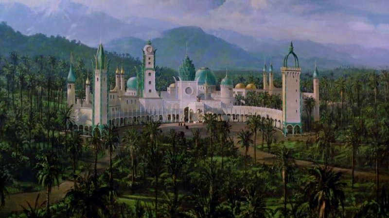 Mansión de El príncipe de Zamunda