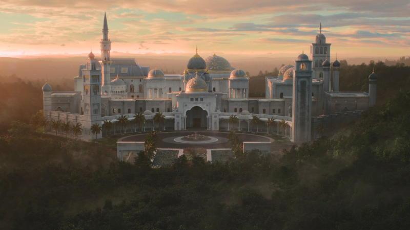 El palacio de Zamunda