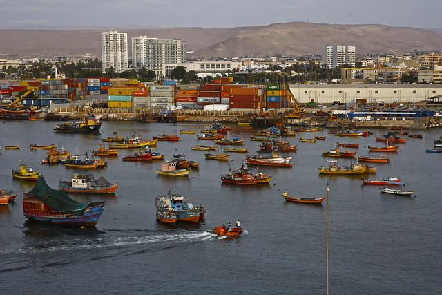 Arica Sea Scene