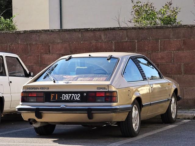 1984 Opel Monza 3.0 E