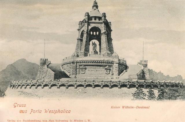 Emperor William Monument (Porta Westfalica), Germany, Kaiser-Wilhelm-Denkmal