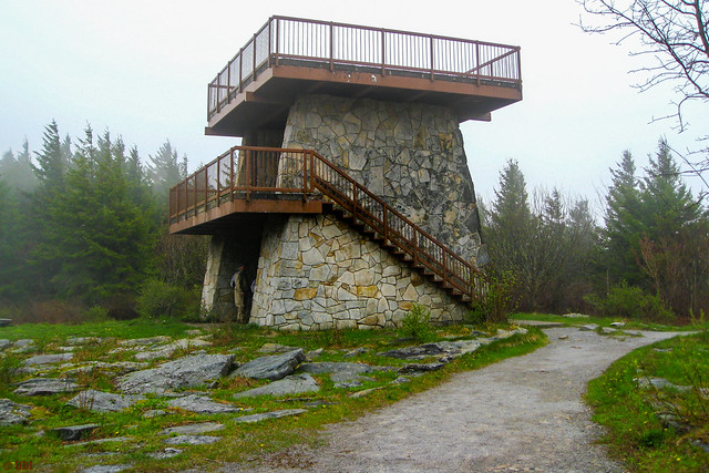 Lookout Tower at Spruce Knob