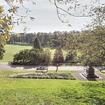 View down Avenham Park, Preston