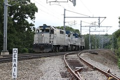 Amtrak Work Extra 522 at Apponaug Cove