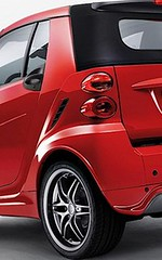 Smart wheel arch extensions suitable for fortwo 451