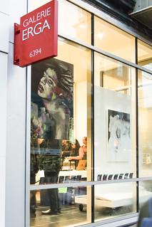 Galerie Erga: Exposition Esthete