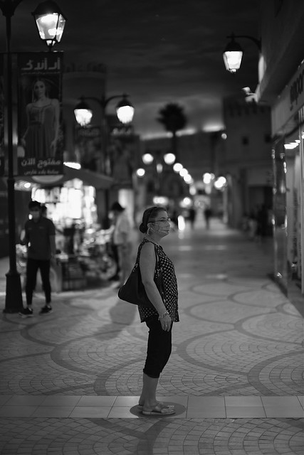 On the street with the Noctilux