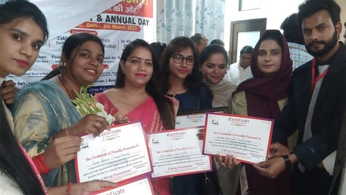 The Okhla Times Chirag foundation event