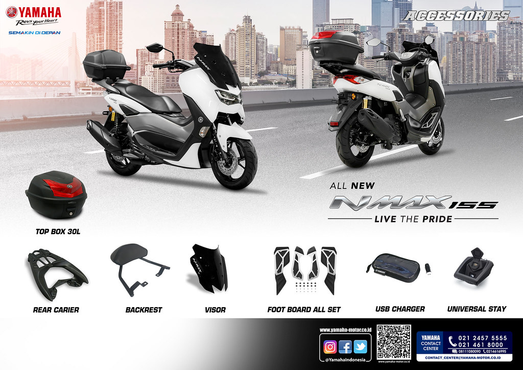 Line up ACC NMAX new