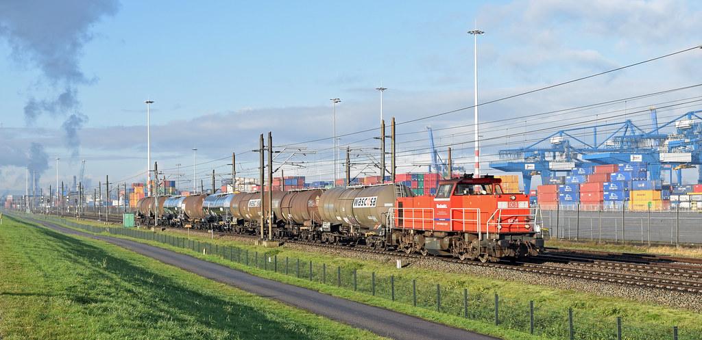 2021-01-02_2218 │DB Cargo 6436 Waalhaven Rotterdam