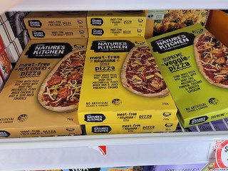 Nature's Kitchen Pizzas