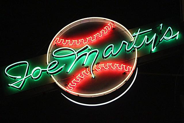 joe marty's...