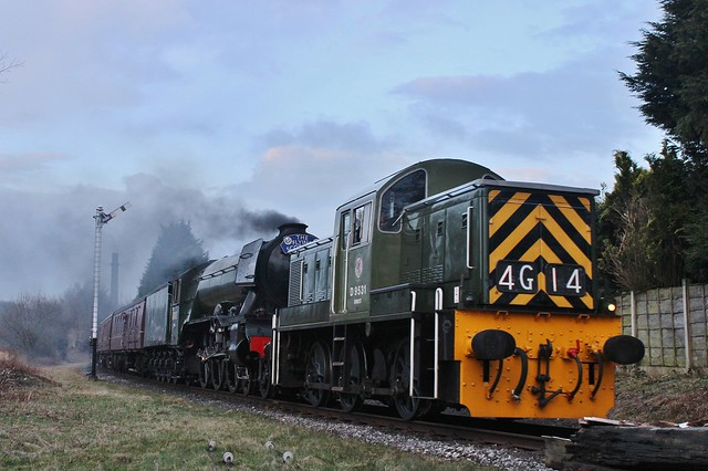 60103 'Flying Scotsman' & D9531 | Townsend Fold | East Lancashire Railway | 11.03.201811.03.2018