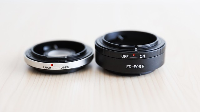 FD-EF , FD-RF mount adapters.