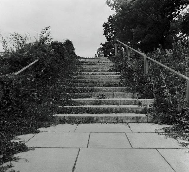 Vergessene Treppe Berlin Kreuzberg 24.7.2020