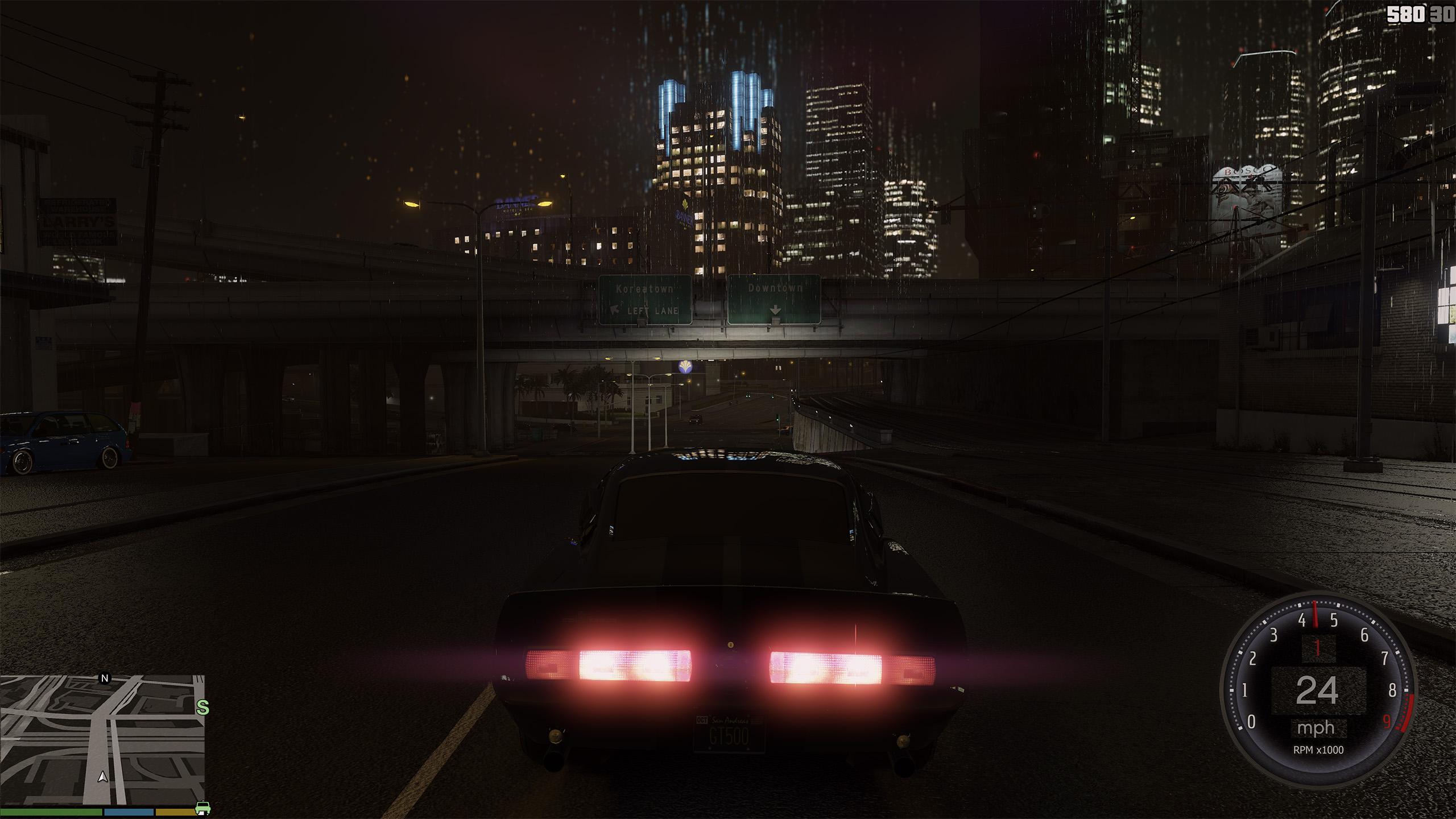 Brakelights ON