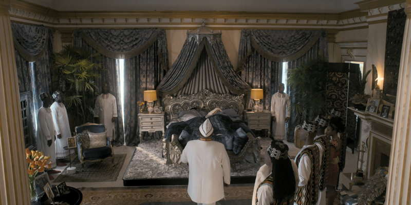 The royal bedchamber