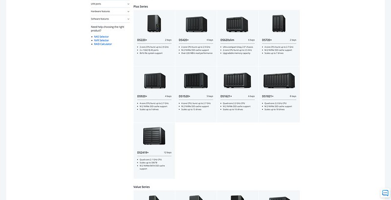 Synology DiskStation Plus Series