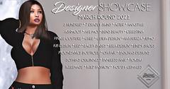 Designer Showcase March-Round- 2021