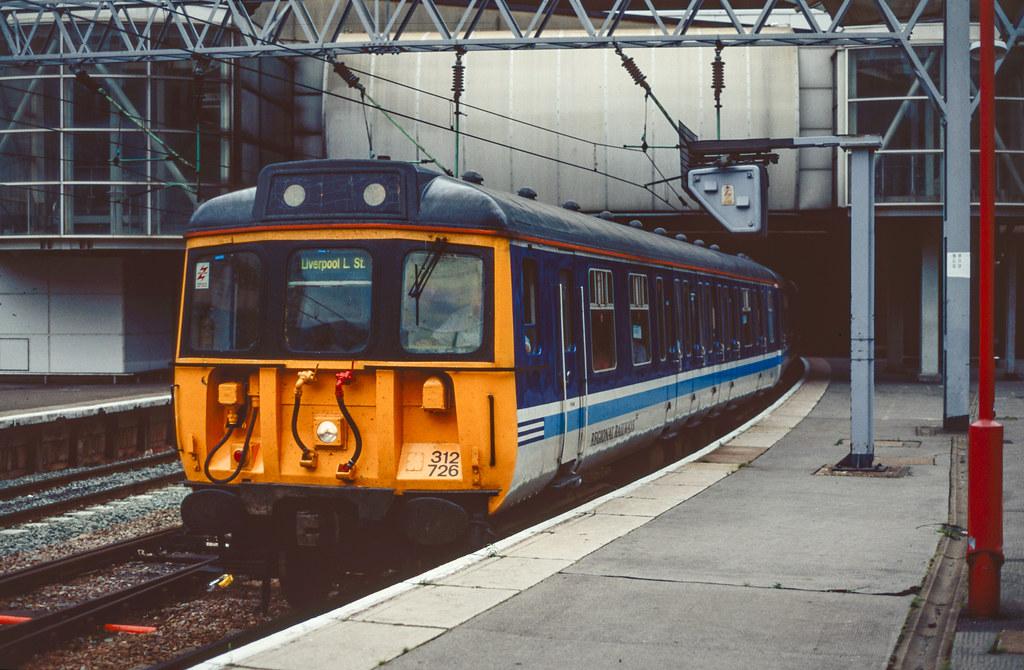 312726 Regional Railways Birmingham New Street 17.09.96