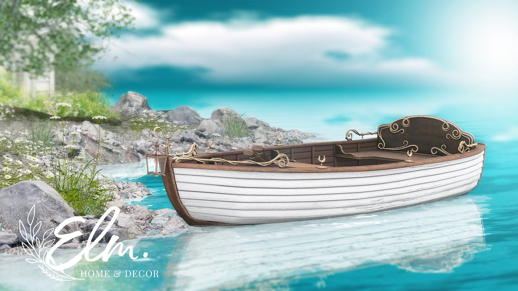 Elm. Nora Rowboat - Available Now at FaMESHed!