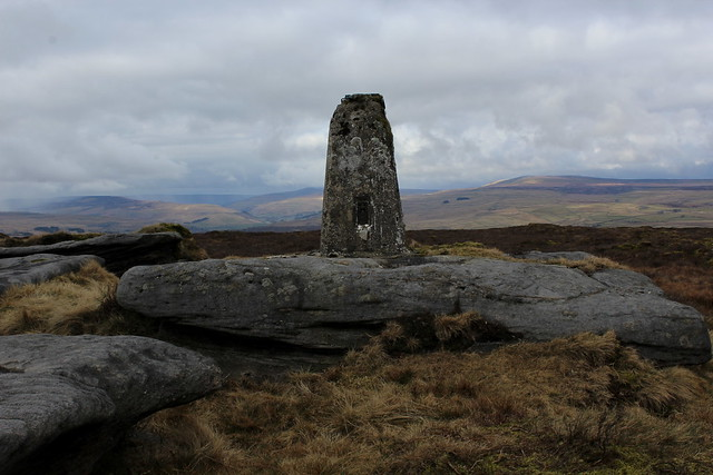 Trig Point on Thorpe Fell