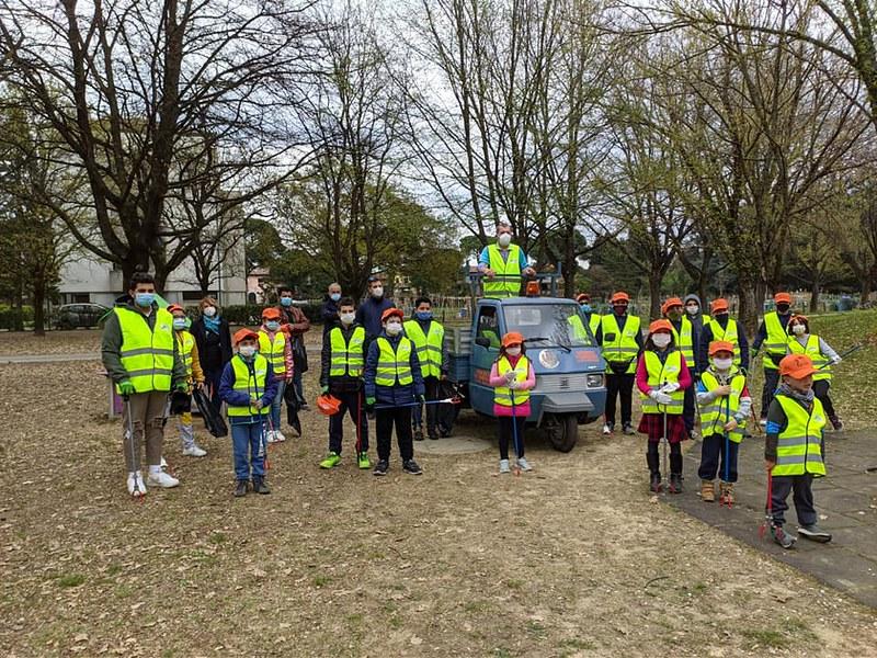 Inaugurato il gruppo giovani dei Volontari per l'ambiente di Castel Bolognese