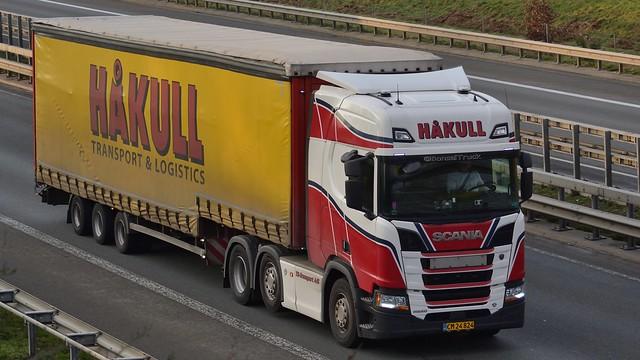 DK - TS-Transport >Hakull< Scania NG R520