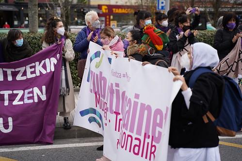 Emakumeen Mundu Martxa 2021, zubiak eraitsiz
