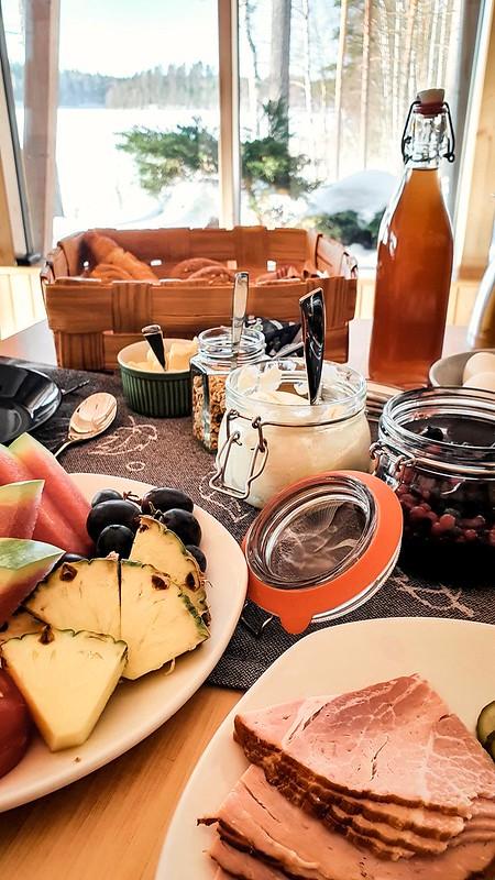 Halla Resort, aamiainen