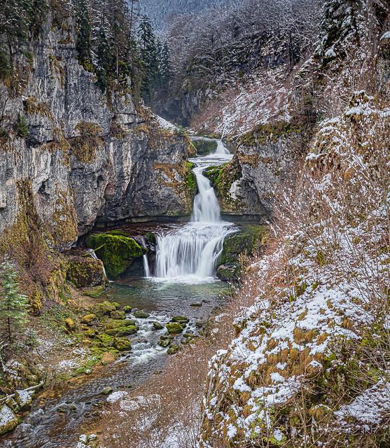 Jura - Cascade de la Billaude
